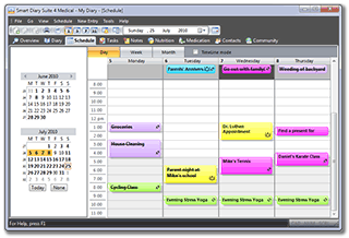 Schedule:: Be organized and ready